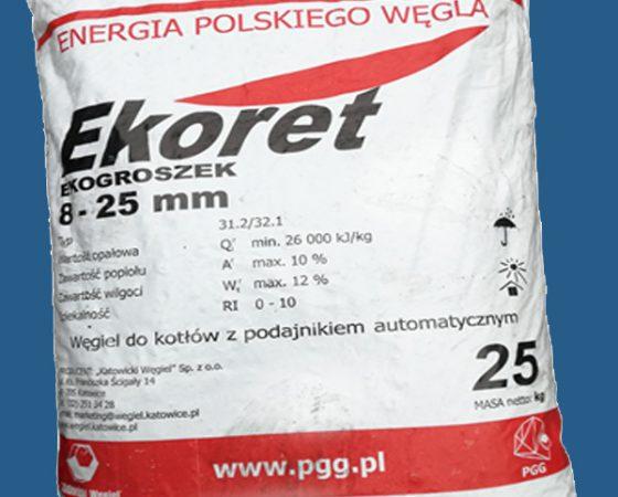 Ekogroszek Ekoret 26' – paczkowany