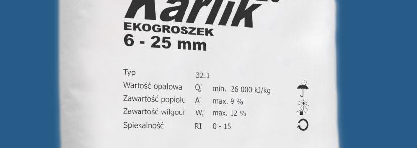 Ekogroszek KARLIK 26'- paczkowany