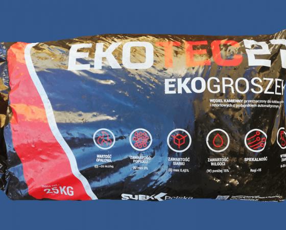 Ekogroszek Ekotec 27′ – paczkowany