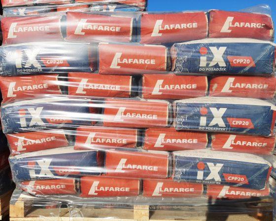 Cement Lafarge iX CPP20 do posadzek